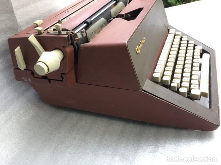 Antigüedades: Máquina de escribir Optima - Foto 6 - 169613840