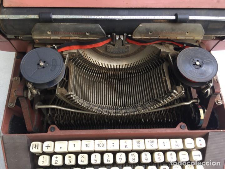 Antigüedades: Máquina de escribir Optima - Foto 7 - 169613840