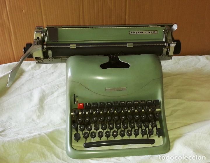 MÁQUINA DE ESCRIBIR HISPANO OLIVETTI LEXICON 80. (Antigüedades - Técnicas - Máquinas de Escribir Antiguas - Olivetti)