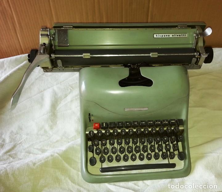 Antigüedades: Máquina de escribir Hispano Olivetti Lexicon 80. - Foto 2 - 169614576