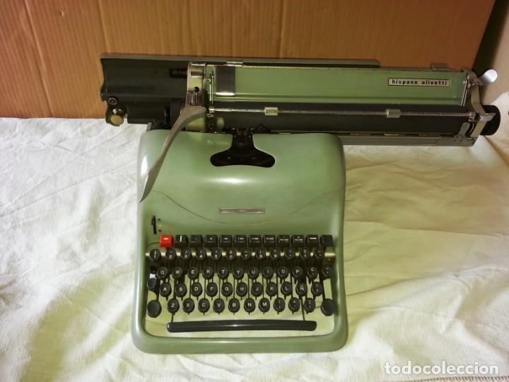 Antigüedades: Máquina de escribir Hispano Olivetti Lexicon 80. - Foto 3 - 169614576