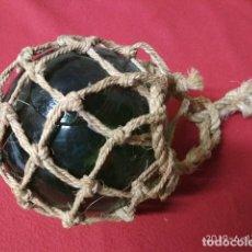 Antigüedades: ANTIGUO BOYA DE CRISTAL. Lote 169632848