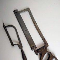 Antigüedades: PAREJA DE SIERRAS DE CIRUJANO, SIGLO XIX.. Lote 169641460
