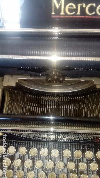 Antigüedades: Antigua maquina de escribir marca Mercedes - Foto 3 - 169645612