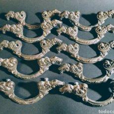 Antigüedades: PRECIOSOS TIRADORES ORNAMENTADOS MODERNISTAS ANTIQUE UNIQUE. Lote 148596862