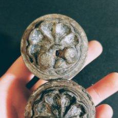 Antigüedades: ANTIGUOS POMOS TIRADORES BARROCOS PRECIOSOS ANTIQUE UNIQUE. Lote 169657796