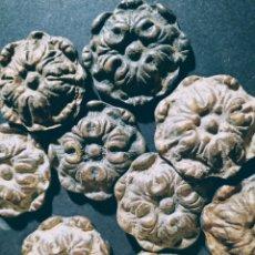 Antigüedades: PRECIOSOS POMOS TIRADORES ANTIGUOS BARROCOS ANTIQUE UNIQUE. Lote 169657848