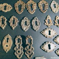 Antigüedades: VARIADOS BOCALLAVES ANTIGUOS ANTIQUE UNIQUE. Lote 169739422