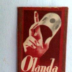 Antigüedades: FUNDA HOJA DE AFEITAR ANTIGUA,OLANDA LUXE.. Lote 169777656