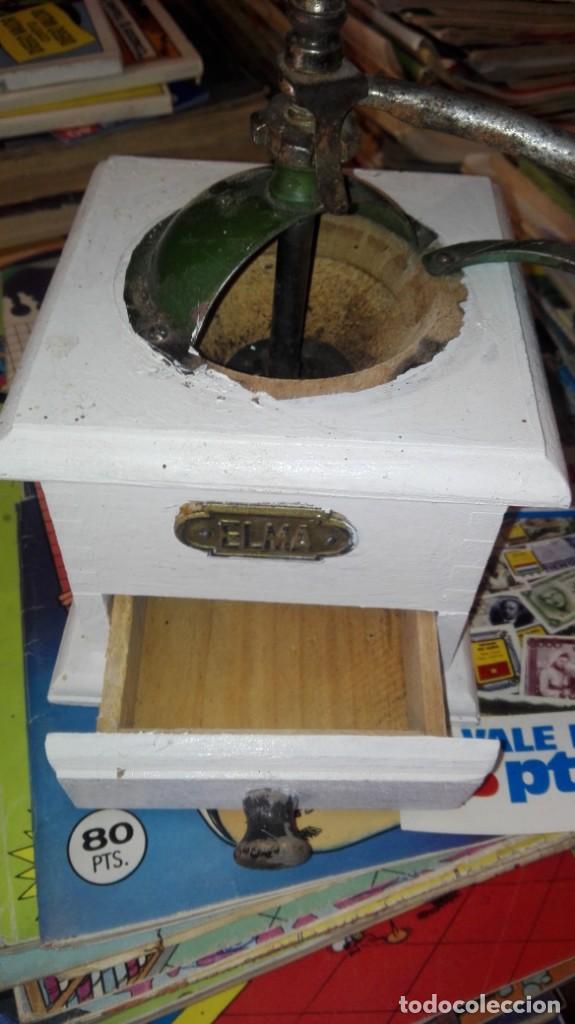 Antigüedades: molinillo de cafe elma - Foto 2 - 169818012