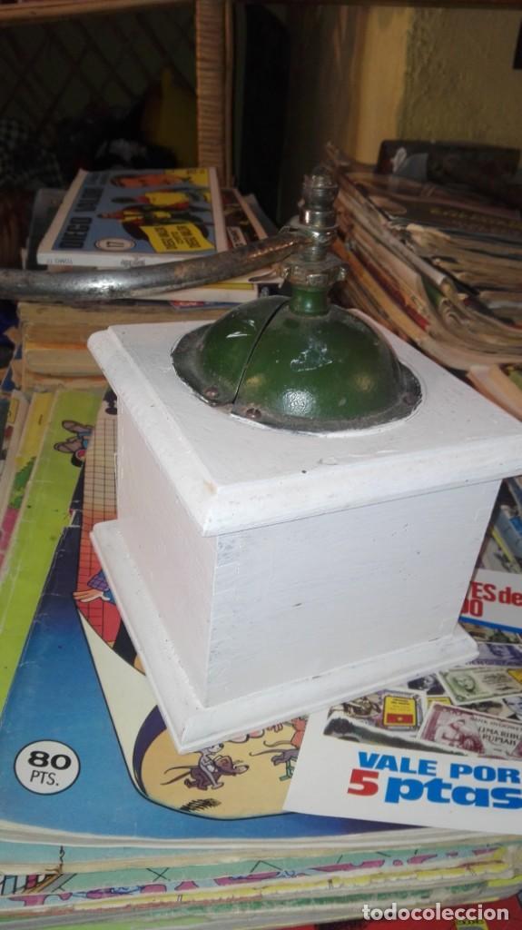 Antigüedades: molinillo de cafe elma - Foto 4 - 169818012
