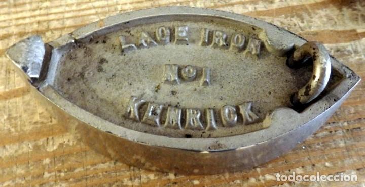 Antigüedades: Plancha antigua industrial. KENRICK LACE IRON 1, VER IMAGENES - Foto 4 - 169874844