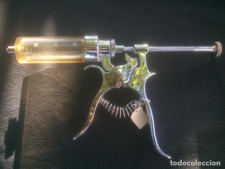 Antigüedades: JERINGUILLA REGULABLE INOX ARDES SIN/USO - Foto 3 - 169912332