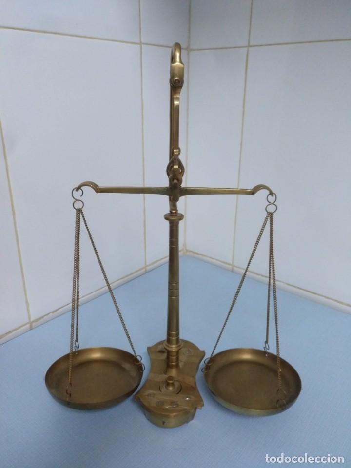 BALANZA ANTIGUA (Antigüedades - Técnicas - Medidas de Peso - Balanzas Antiguas)