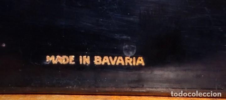 Antigüedades: MÁQUINA DE ESCRIBIR ORGA PRIVAT CON SU MESA DE ROBLE. MADE IN BAVARIA (ALEMANIA) - Foto 6 - 169975852