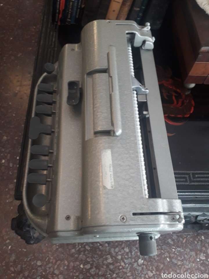 Antigüedades: Máquina de escribir Braille Perkins Brailler - Foto 2 - 194271025