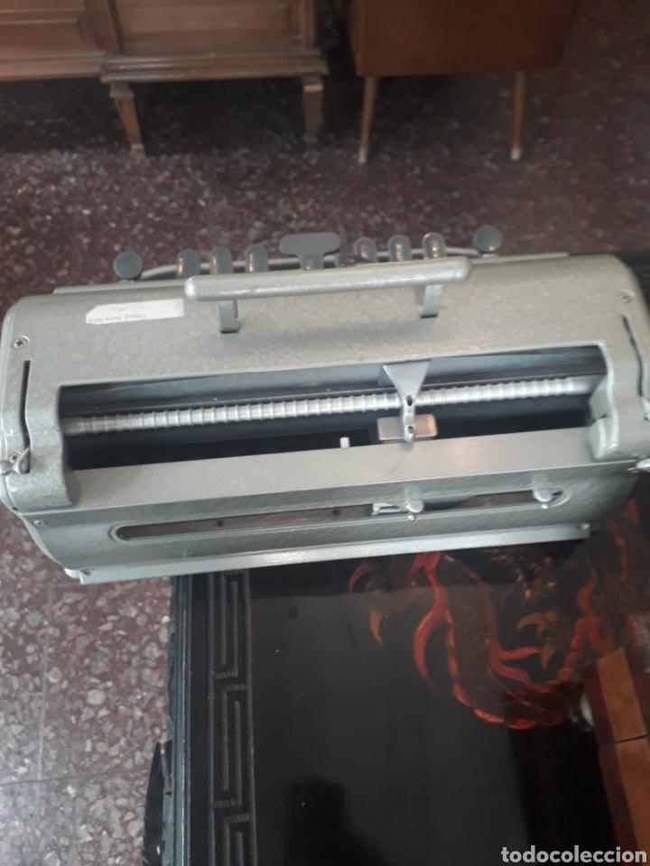 Antigüedades: Máquina de escribir Braille Perkins Brailler - Foto 3 - 194271025