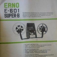 Antigüedades: ERNO E-601 S-8. Lote 169983952