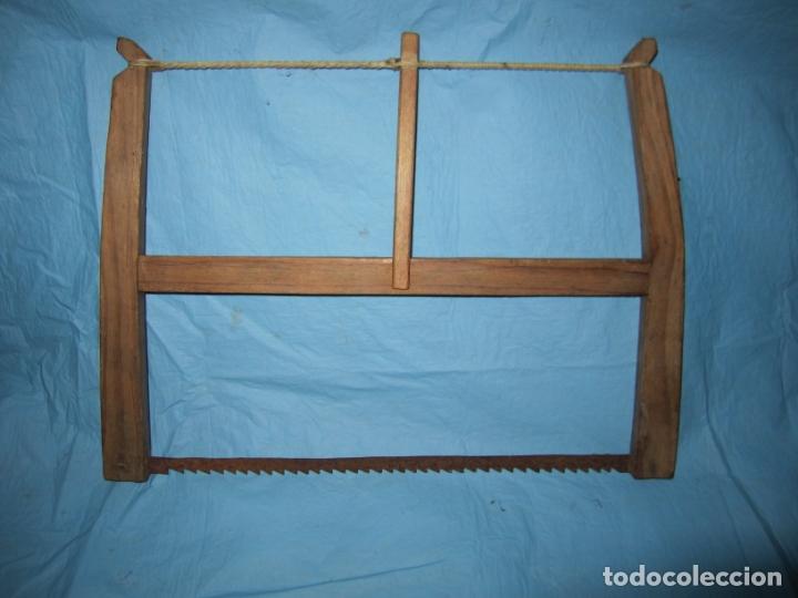 ANTIGUA Y PRECIOSA PEQUEÑA SIERRA CARPINTERO (Antigüedades - Técnicas - Herramientas Profesionales - Carpintería )