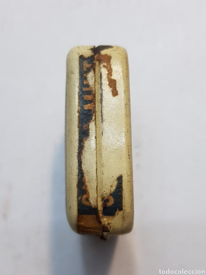 Antigüedades: Cajita hojalata de Farmacia Chlora-mint - Foto 3 - 170026102