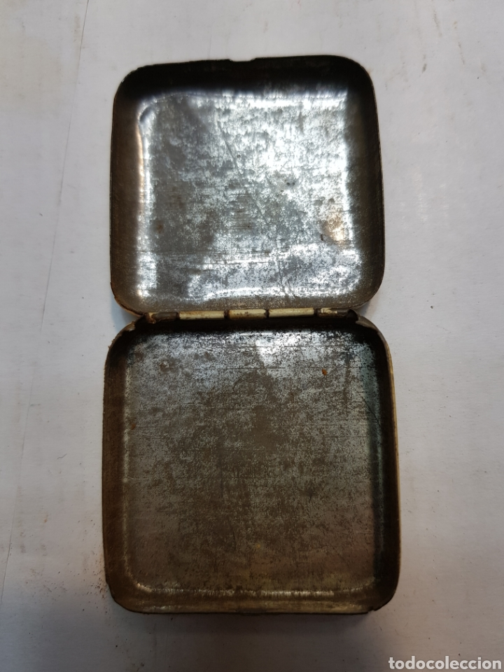 Antigüedades: Cajita hojalata de Farmacia Chlora-mint - Foto 4 - 170026102