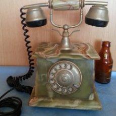 Teléfonos: TELÉFONO DE ALABASTRO. AÑOS 60. FUNCIONANDO PERFECTAMENTE.. Lote 170112116
