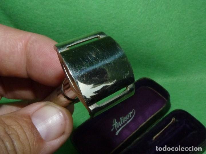 Antigüedades: Antigua Maquinilla de Afeitar en Estuche Original ANTICOR - Foto 5 - 170125604