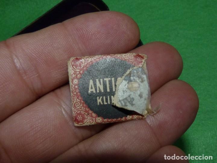 Antigüedades: Antigua Maquinilla de Afeitar en Estuche Original ANTICOR - Foto 7 - 170125604