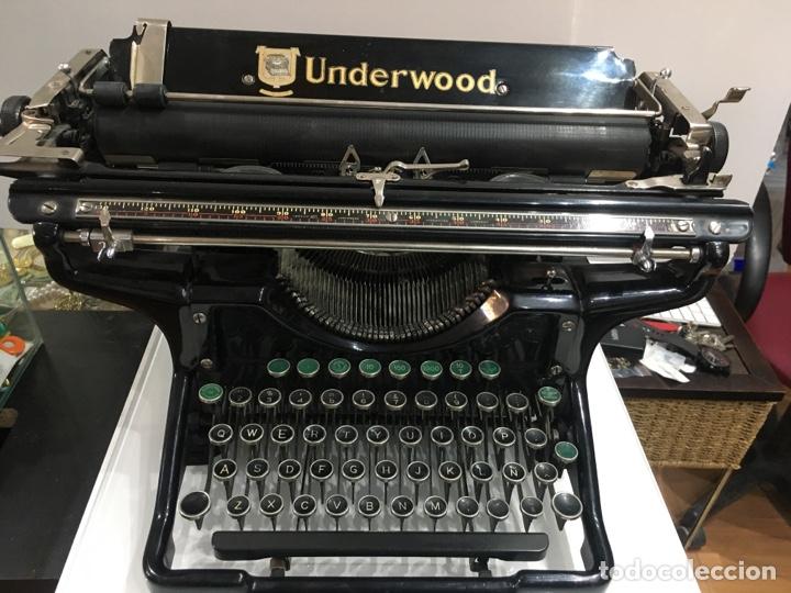 MAQUINA ESCRIBIR ANTIGUA UNDERWOOD CON TECLADO EN ESPAÑOL ENVIO INCLUIDO (Antigüedades - Técnicas - Máquinas de Escribir Antiguas - Underwood)