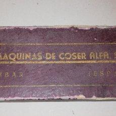 Antigüedades: REPUESTOS MAQUINA DE COSER ALFA T1. Lote 170176013