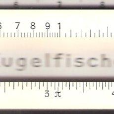 Antigüedades: FAG KUGELFISCHER. REGLA DE CALCULO, PRECISIÓN.ESTUCHE DE PIEL.. Lote 170206336