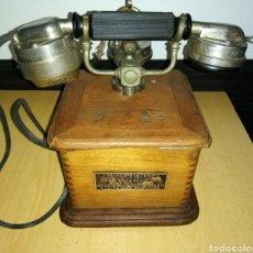 Teléfonos: TELÉFONO ANTIGUO MODELO 1910, PROPRIETE DE L'ETAT, FRANCIA (SIN RESTAURAR). Lote 170217456