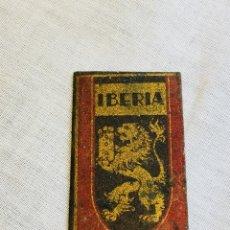 Antigüedades: HOJA AFEITAR IBERIA. Lote 170270681