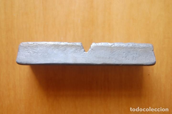 Antigüedades: Lingote de metal de aportación Técnico. - Foto 2 - 170339244