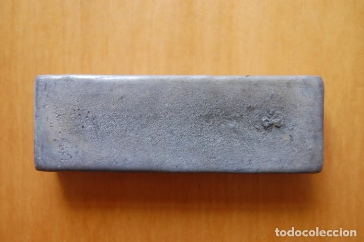Antigüedades: Lingote de metal de aportación Técnico. - Foto 3 - 170339244