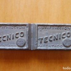Antigüedades: LINGOTE DE METAL DE APORTACIÓN TÉCNICO.. Lote 170339244