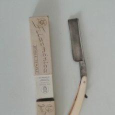 Antigüedades: NAVAJA AFEITAR FILARMONICA 14 JOSE MONSERRAT. Lote 170367736