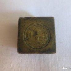 Antigüedades: PONDERAL MONETARIO DE 8 ESCUDOS DE ORO 1677-1712. Lote 170372332