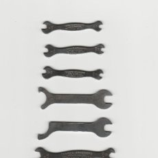 Antigüedades: LOTE DE 8 MINI LLAVES-TERRY'S SPANNERS. Lote 170458252