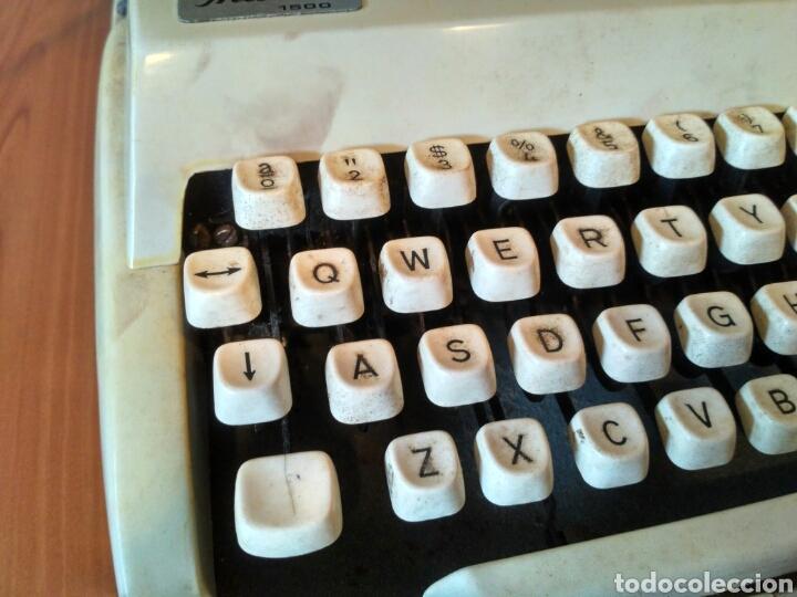 Antigüedades: Maquina de escribir Mitoral 1500 - Foto 2 - 170844827