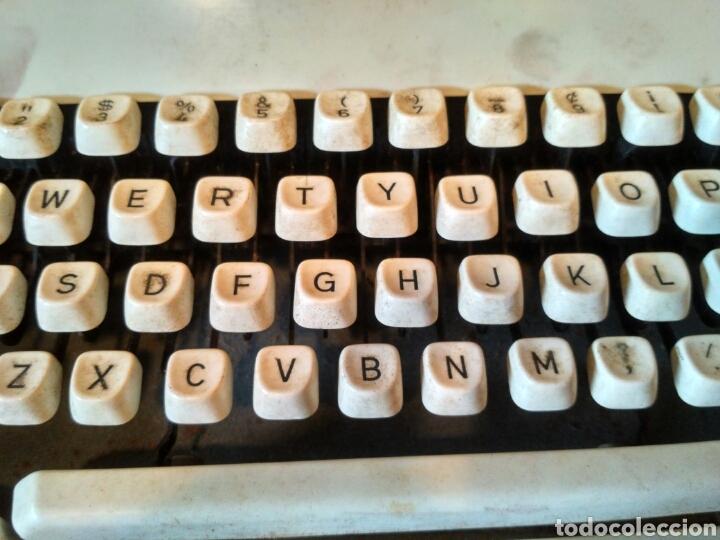 Antigüedades: Maquina de escribir Mitoral 1500 - Foto 3 - 170844827