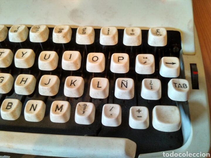 Antigüedades: Maquina de escribir Mitoral 1500 - Foto 4 - 170844827
