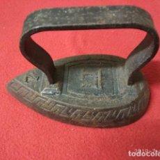 Antigüedades: ANTIGUA PLANCHA DE HIERRO. Lote 170856575