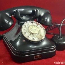 Teléfonos: ANTIGUO TELÉFONO BAQUELITA ESPAÑOL, DE STANDARD ELÉCTRICA, PARA LA CTNE. Lote 170916260