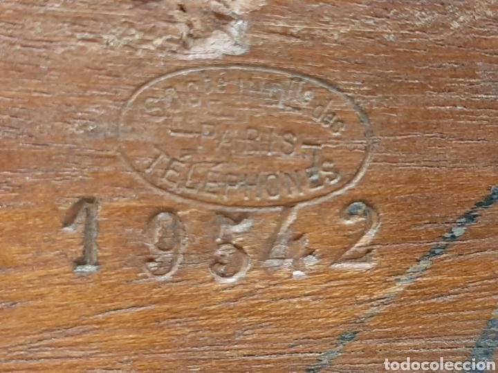 Antigüedades: MAGNÍFICO TELÉGRAFO, USADO EN ESTACIONES DE RENFE ANTES DEL TELÉFONO. Serie L 3-27 Número 19542. - Foto 11 - 158525146