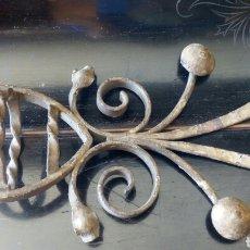 Antigüedades: REMATE DE FORJS PARA REJA. Lote 171012475