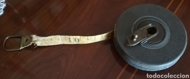 ANTIGUA CINTA METRICA (Antigüedades - Técnicas - Varios)