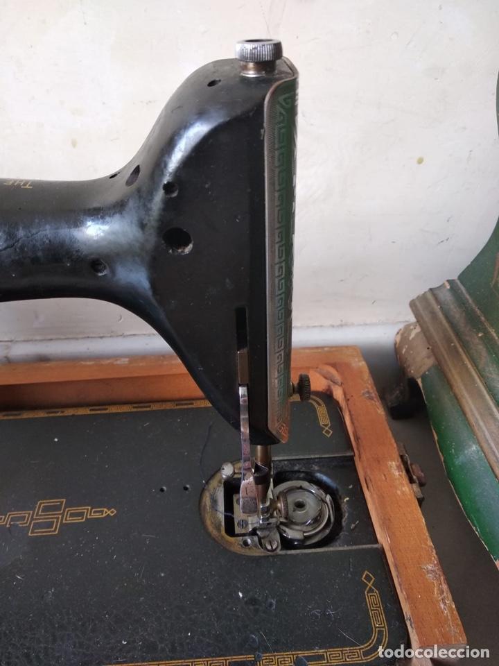 Antigüedades: Bonita máquina de coser singer - Foto 8 - 171016359