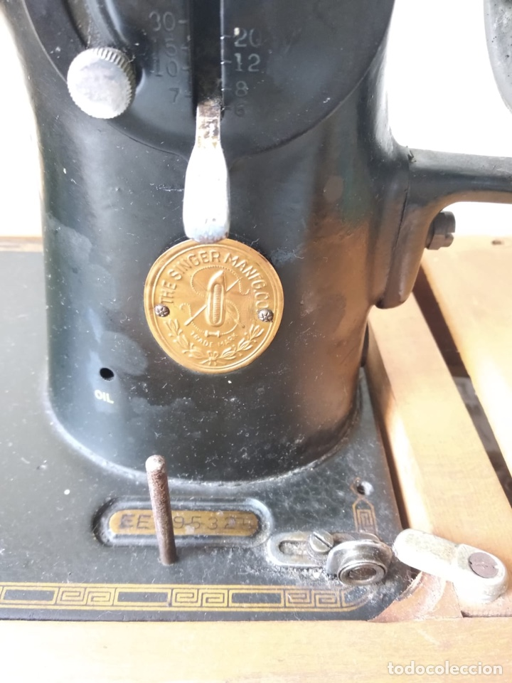 Antigüedades: Bonita máquina de coser singer - Foto 10 - 171016359