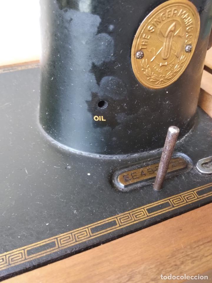 Antigüedades: Bonita máquina de coser singer - Foto 12 - 171016359